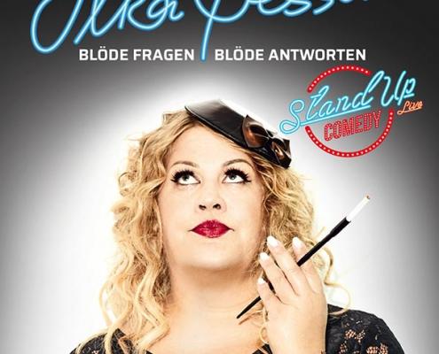 Plakatmotiv Ilka Bessin Comedy Show im Metropol Theater Bremen
