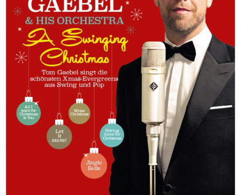 Plakatmotiv A Swinging Christmas - Tom Gaebel & his Orchestra Bremen