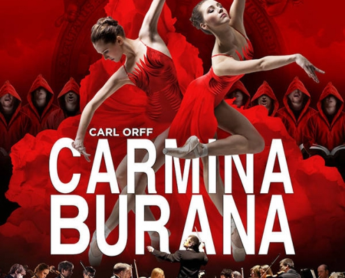 Plakatmotiv Ballett Chor Orchester Carmina Burana im Metropol Theater Bremen