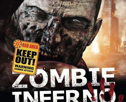 Plakatmotiv für Show Zombie Inferno: Theatre Of Horror in Bremen 2021