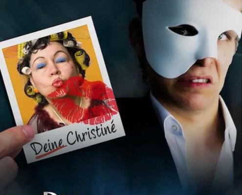 Plakatmotiv Das Phantom der Oper - Der Original Fake in Bremen 2021