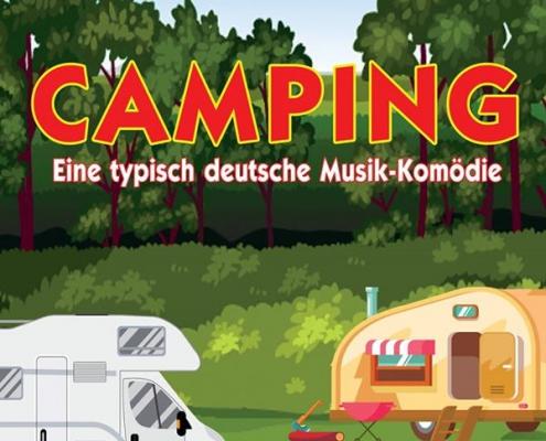 Plakatmotiv Camping vom FRITZ Bremen im Metropol Theater