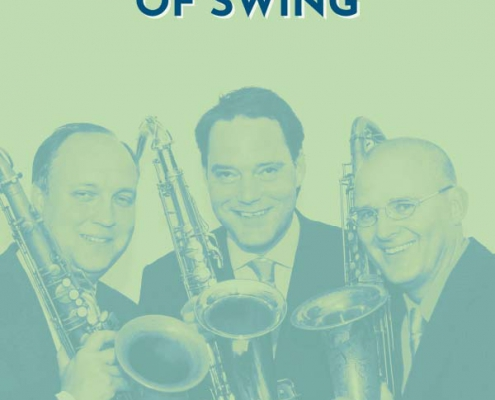 Plakatmotiv The Three Tenors of Swing im Metropol Theater Bremen