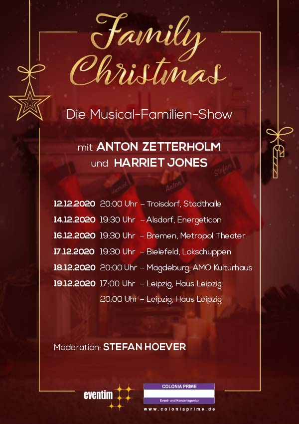 Family Christmas – Die Musical-Familien-Show