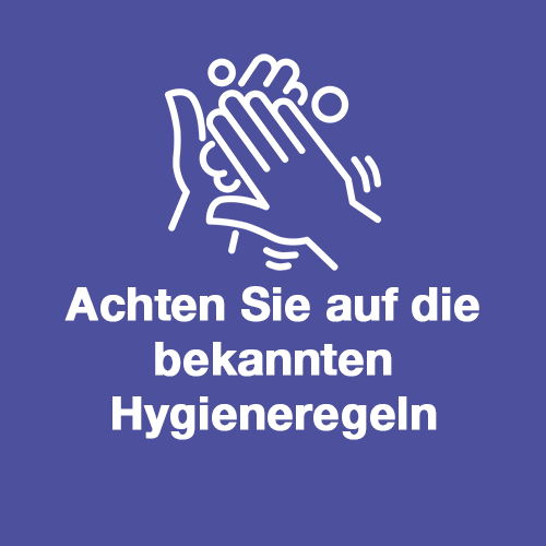 Bild Hygieneregeln