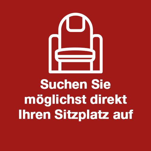 Bild Sitzplatz aufsuchen