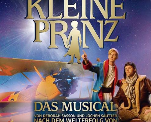 Plakatmotiv Der kleine Prinz - Das Musical von Sautter und Sasson im Metropol Theater Bremen