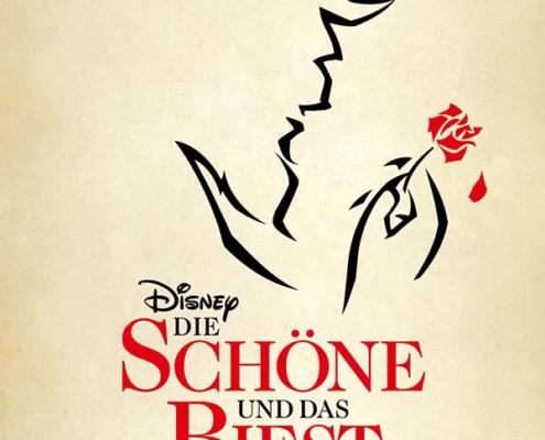 Plakatmotiv für Die Original-Musicalfassung Disney Die Schöne und das Biest in Bremen