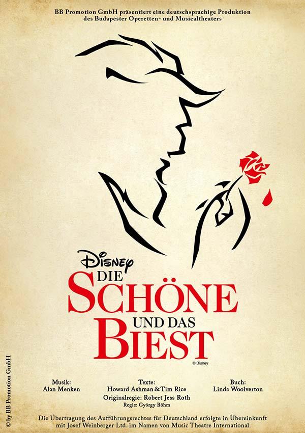 Disney Die Schöne und das Biest – Die Original-Musicalfassung
