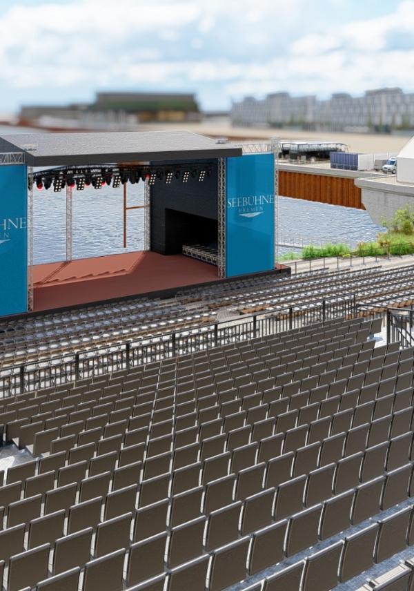 Beitragsbild Metropol Theater Bremen - Open Air-Reihe auf der Seebühne Bremen im Juli