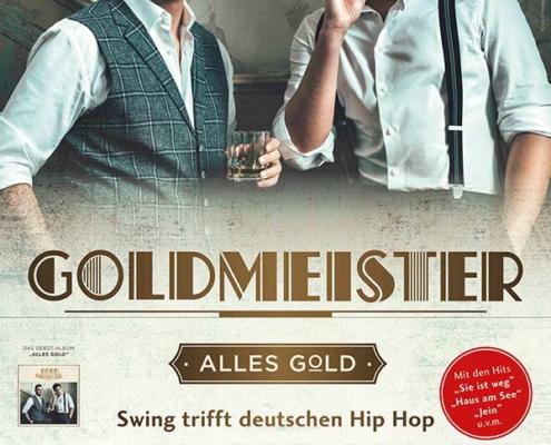 Plakatmotiv für Goldmaster - Alles Gold - Zurück in die Zwanziger in Bremen