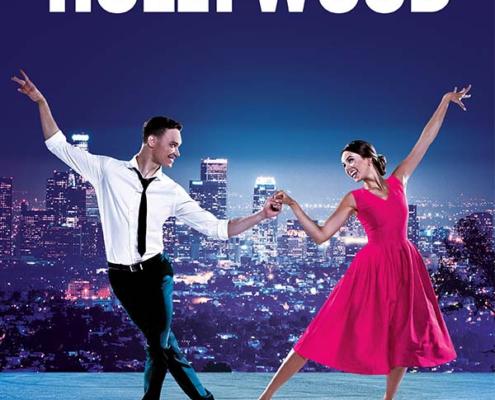 Plakatmotiv für Tanz Show Dancin Hollywood in Bremen