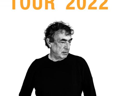 """Plakatmotiv Hubert von Goisern """"Zeiten & Zeichen"""" – LIVE 2022 in Bremen"""