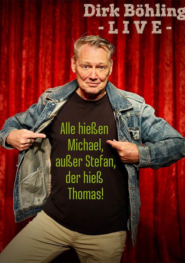 Tickets sichern für Dirk Böhling live im Metropol Theater