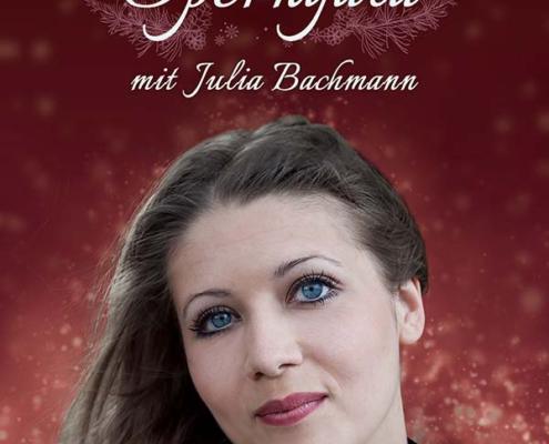 Keyvisual für Weihnachtliche Operngala - Julia Bachmann & Ensemble in Bremen