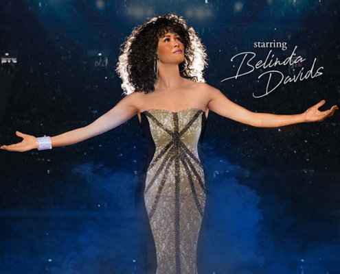 Keyvisual für The Greatest Love of All - A Tribute to Whitney Houston in Bremen