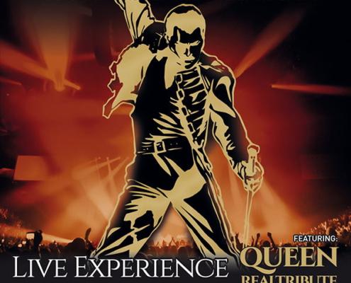 Keyvisual für The Spirit of Freddie Mercury in Bremen